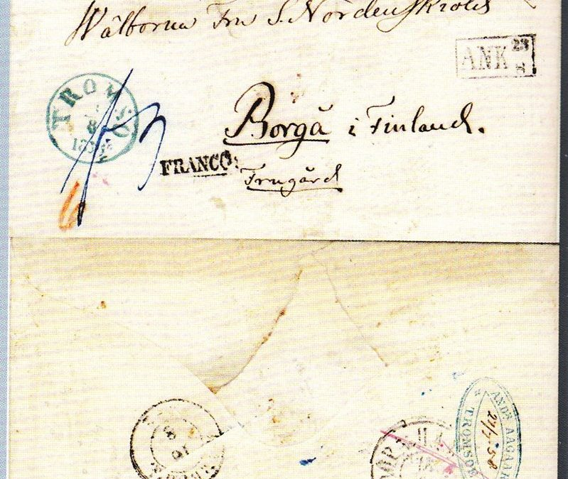 Første brev sendt fra Svalbard?