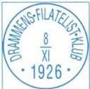 Drafnia 2021: Drammen har regional frimerkeutstilling 5. – 7. november 2021