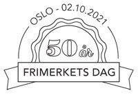 Frimerkets dag 2021 – 2. oktober