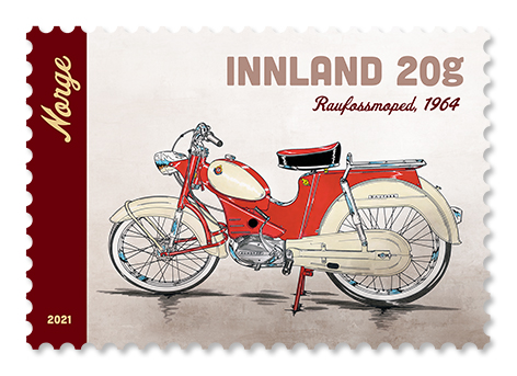 Mopeder og motorsykler på frimerker 2.10.2021